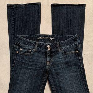 American Eagle Stretch Boot Cut Jeans sz 4R